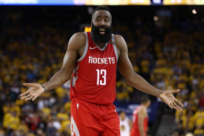 Rockets James Harden